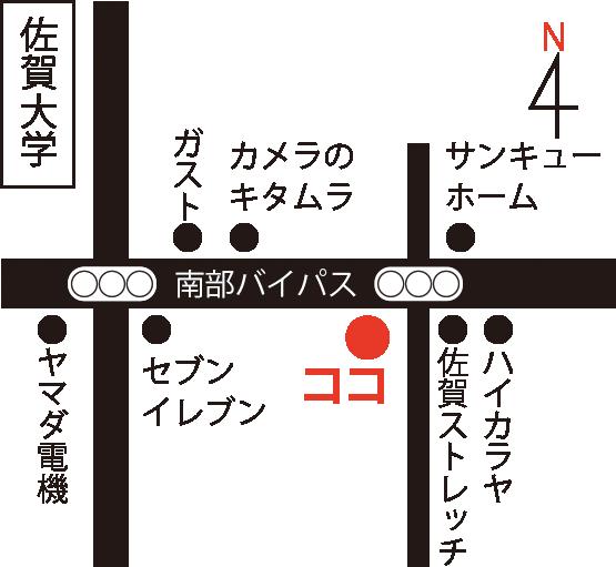 佐賀店マップ